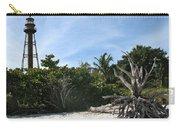 Sanibel Light And Driftwood Carry-all Pouch