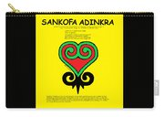 Sankofa Adinkra Carry-all Pouch