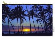 Sans Souci Sunset Waikiki Carry-all Pouch