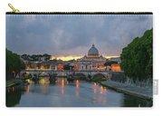 Sant Angelo Bridge At Dusk Carry-all Pouch