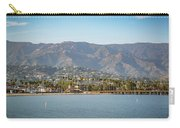 Santa Barbara Coastline From The Water Carry-all Pouch
