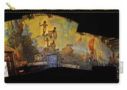 Santa Barbara Hall Of Murals Carry-all Pouch