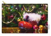 Santa-claus Boot Carry-all Pouch by Carlos Caetano
