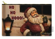 Santa Claus Christmas Card Carry-all Pouch