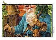 Santa Claus Ringing A Bell Carry-all Pouch