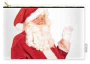 Santa Claus Waving Hand Carry-all Pouch