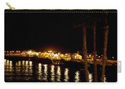 Santa Cruz Pier At Night Carry-all Pouch