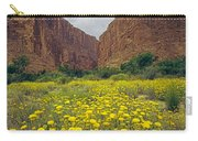317804-santa Elena Canyon In Bloom  Carry-all Pouch