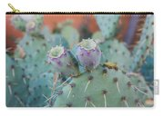 Santa Fe Prickly Pear Cactus Carry-all Pouch
