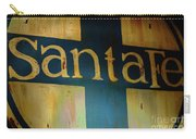 Santa Fe Vintage Sign Carry-all Pouch