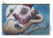 Santa Hog Carry-all Pouch