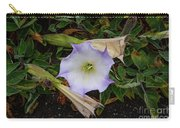 Santa Monica Mountains Sacred Datura Carry-all Pouch