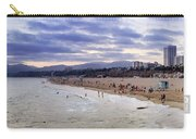 Santa Monica Sunset Panorama Carry-all Pouch