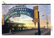 Santa Monica Yacht Harbor Sign Carry-all Pouch