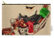 Santa On Motorcycle  Carry-all Pouch