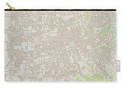 Santa Rosa California Us City Street Map Carry-all Pouch