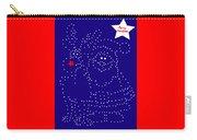 Santa Rudolph Stars Blue 2 Carry-all Pouch