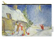 Santa's Visit Carry-all Pouch