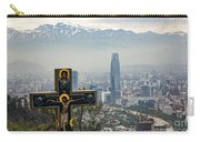 Santiago Chile Panoramic Carry-all Pouch