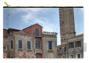 Santo Stefano Venice Leaning Tower Carry-all Pouch