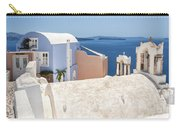 Santorini Blue House In Oia Carry-all Pouch