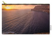 Santorini Caldera Sunset Carry-all Pouch