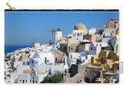 Santorini Oia Carry-all Pouch