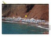 Santorini Red Beach   Carry-all Pouch