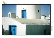 Santorini Silo With Border Carry-all Pouch