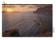 Santorini Sunset Caldera Carry-all Pouch