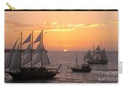 Santorini Sunset Sails Carry-all Pouch