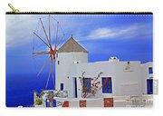 Santorini Windmills Carry-all Pouch