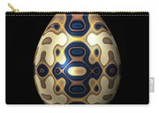 Sapphire And Gold Imperial Easter Egg Carry-all Pouch