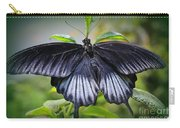 Sapphire Blue Swallowtail Butterfly Carry-all Pouch
