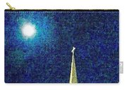 Sapphire Moon Glow Carry-all Pouch