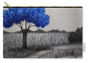 Sapphire Tree Carry-all Pouch