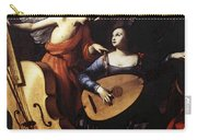 Saraceni Carlo Saint Cecilia And The Angel Carry-all Pouch