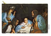 Saraceni Carlo The Birth Of Christ Carry-all Pouch