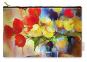 Sara's Colorful Bouquet  Carry-all Pouch