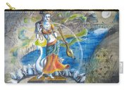 Saraswati By Moon  Carry-all Pouch
