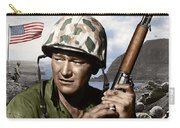 Sargent Stryker U S M C  Iwo Jima Carry-all Pouch