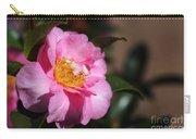 Sasanqua Camellia Carry-all Pouch