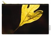Sassafras Leaf Aglow Carry-all Pouch
