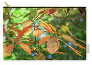 Sassafras Leafs Texture 7k_dsc0933_16-10-30 Carry-all Pouch