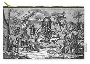 Satan With Cavorting Dancers, 18th Carry-all Pouch
