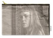 Satie Seeking Antique Style Carry-all Pouch