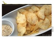 Satisfy The Craving With Chips And Dip Carry-all Pouch