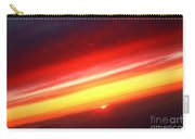 Saturn On Earth Sunset Carry-all Pouch