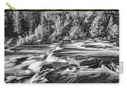 Sauble Falls Autumn Evening 3 - Paint Bw Carry-all Pouch
