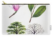 Saucer Magnolia Carry-all Pouch